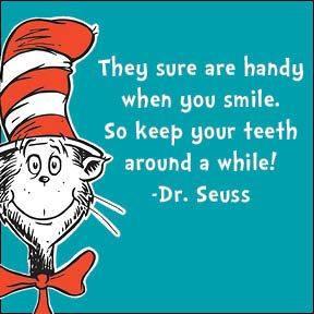 dr seuss teeth aphorism